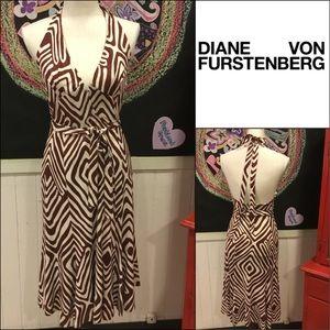 👗❤️ Diane von Furstenberg sz6 wrap DRESS